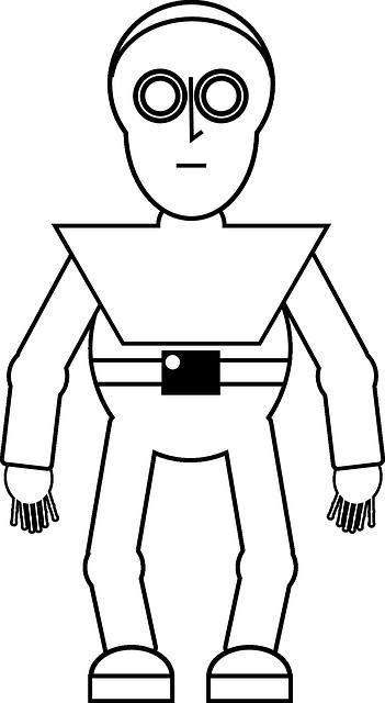 robot zeichnung